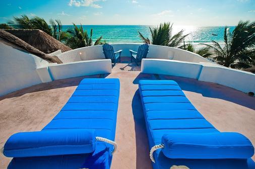 Kin Sol Soleil - Playa del Carmen - Ban công