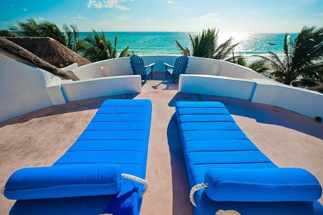 金索太陽馬洛瑪海灘酒店 - 卡曼海灘 - 普拉亞卡門 - 陽台