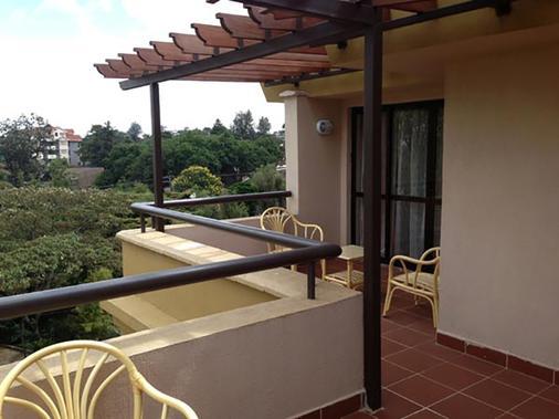 Waridi Paradise Hotel & Suites - Nairobi - Balcony