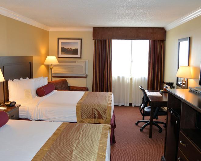 貝斯特韋斯特澤內提酒店及會議中心 - 威克斯-巴列 - 威爾克斯-貝爾 - 臥室