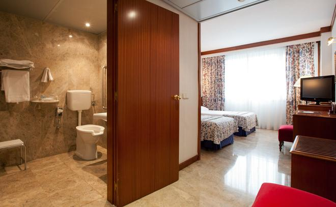 桑特瑪爾酒店 - 聖塔坦德 - 桑坦德 - 臥室