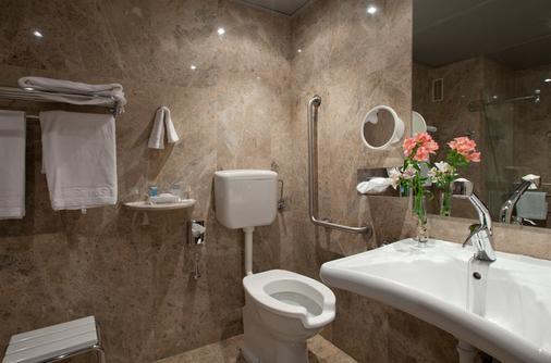 Hotel Santemar - Thành phố Santander - Phòng tắm
