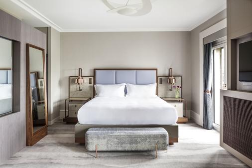 和平酒店,麗思卡爾頓夥伴酒店 - 日內瓦 - 日內瓦 - 臥室