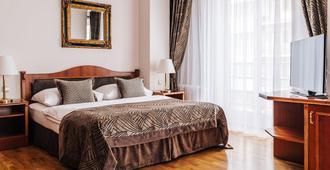 Hotel Belvedere - פראג - חדר שינה