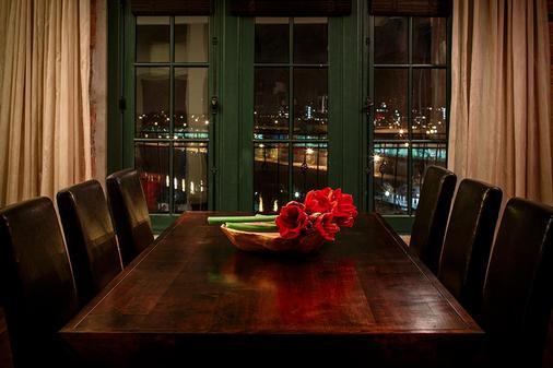 Hotel Nelligan - Montreal - Dining room
