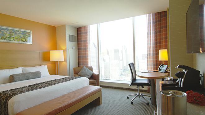 格里克鎮賭場酒店 - 底特律 - 底特律 - 臥室