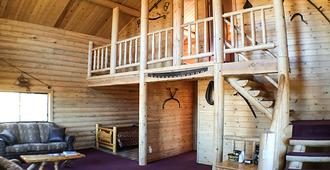 Parade Rest Ranch - West Yellowstone - Sala de estar