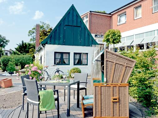 Akzent Hotel Dorn - Büsum - Βεράντα