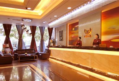 Yinchuan Shengshi Garden Hotel - Yinchuan - Front desk