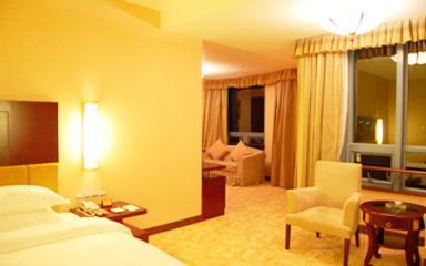 Yinchuan Shengshi Garden Hotel - Yinchuan - Bedroom