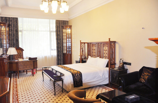 The White House Hotel Guilin - กุ้ยหลิน - ห้องนอน
