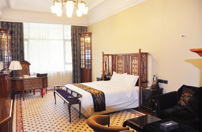The White House Hotel Guilin - Guilin - Bedroom