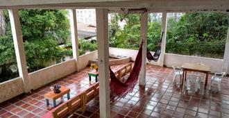 Hostel Kombi Curitba - Curitiba - Patio