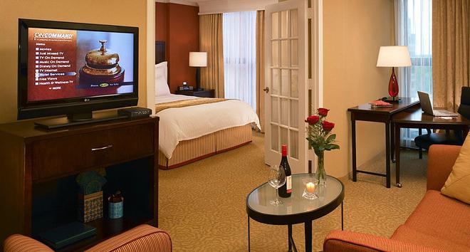 Chicago Marriott Suites O'Hare - Rosemont - Olohuone