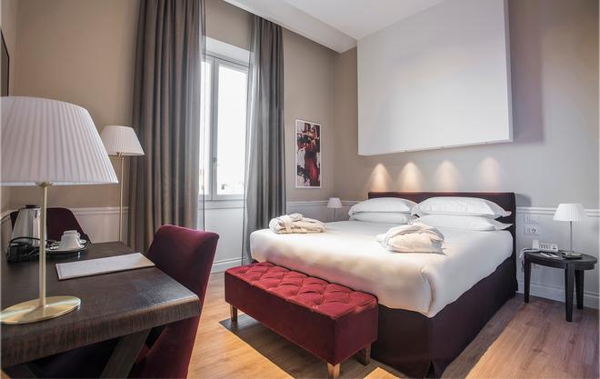 1874 卡斯特里宮酒店 - 佛羅倫斯 - 佛羅倫斯 - 臥室