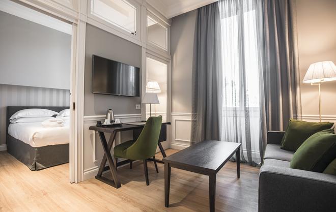 1874 卡斯特里宮酒店 - 佛羅倫斯 - 佛羅倫斯 - 客廳