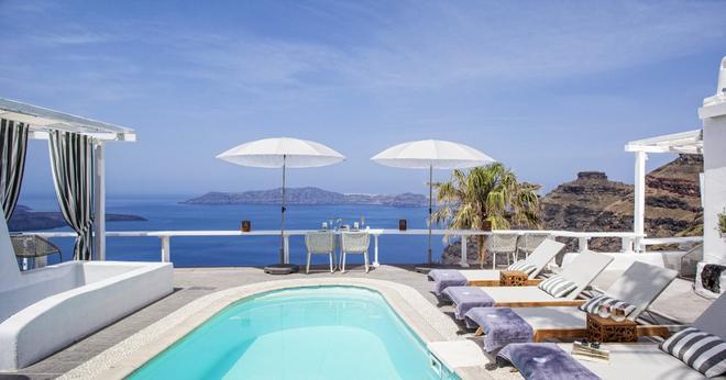 Mill Houses Elegant Suites - Firostefani - Bể bơi