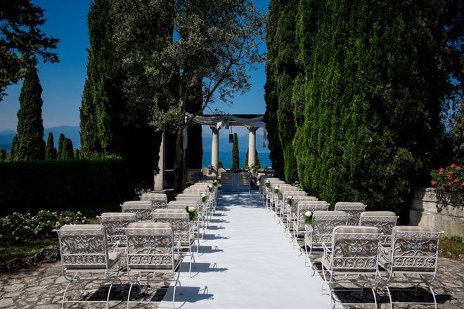 科提內宮殿別墅酒店 - 西米歐涅 - 西爾米奧奈 - 宴會廳