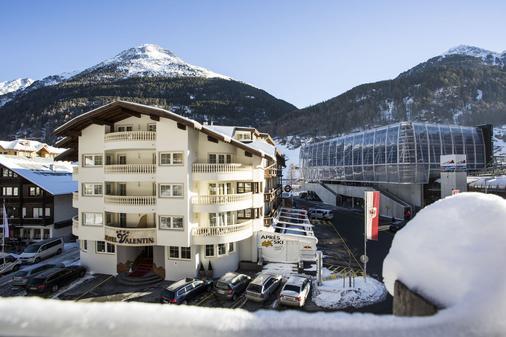 Hotel Valentin - Sölden - Rakennus