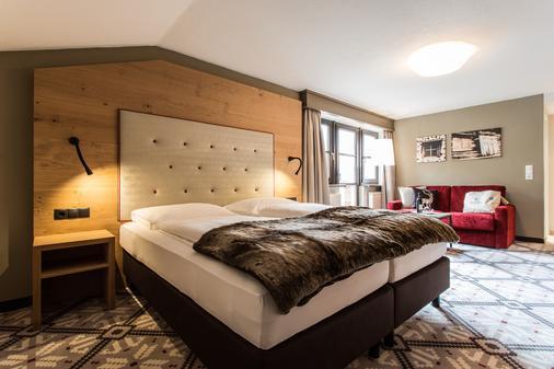 Hotel Valentin - Sölden - Makuuhuone