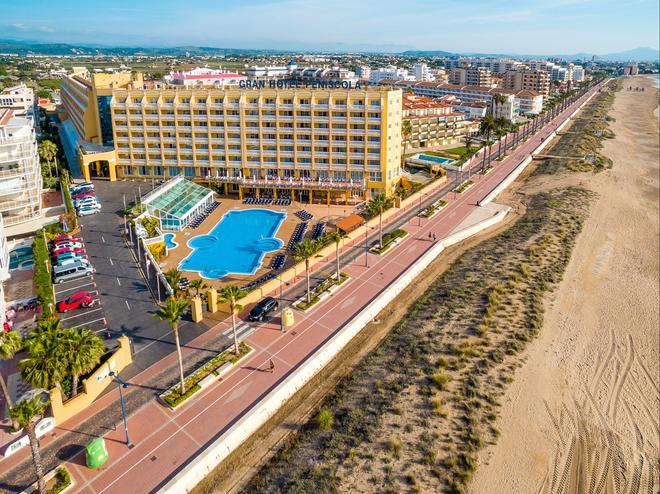 潘妮思柯拉大酒店 - 朋尼斯科拉 - 佩尼斯科拉 - 建築