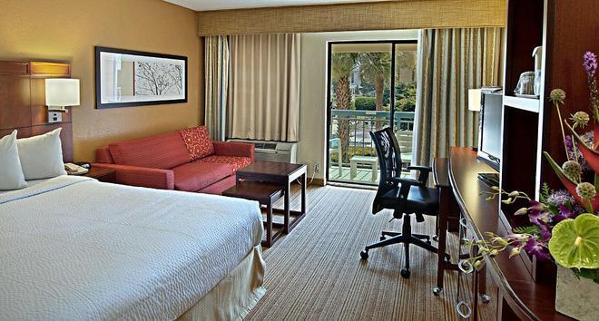 Courtyard by Marriott Orlando Lake Buena Vista at Vista Centre - Orlando - Bedroom