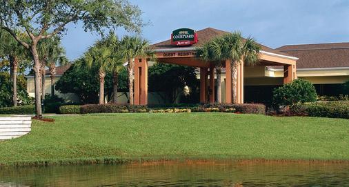 Courtyard by Marriott Orlando Lake Buena Vista at Vista Centre - Orlando - Rakennus