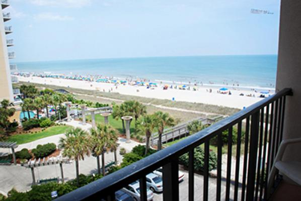 Sandcastle Oceanfront Resort At The Pavilion - Myrtle Beach - Parveke