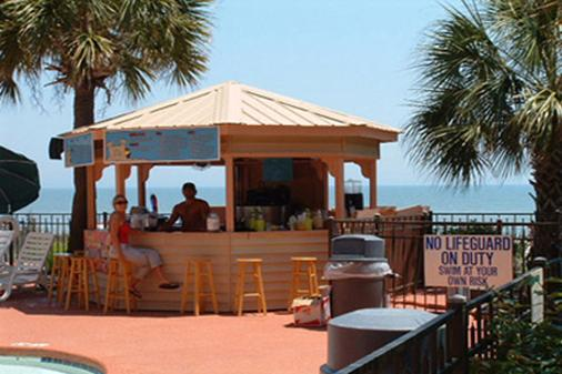 Sandcastle Oceanfront Resort At The Pavilion - Myrtle Beach - Bar