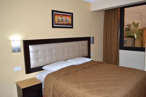 Hotel Al Akhawayn - Oujda - Schlafzimmer
