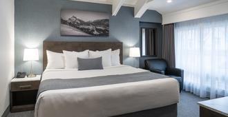 Red Carpet Inn - Banff - Bedroom