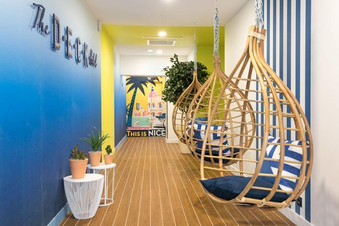 The Deck Hotel by HappyCulture - Nizza - Oleskelutila