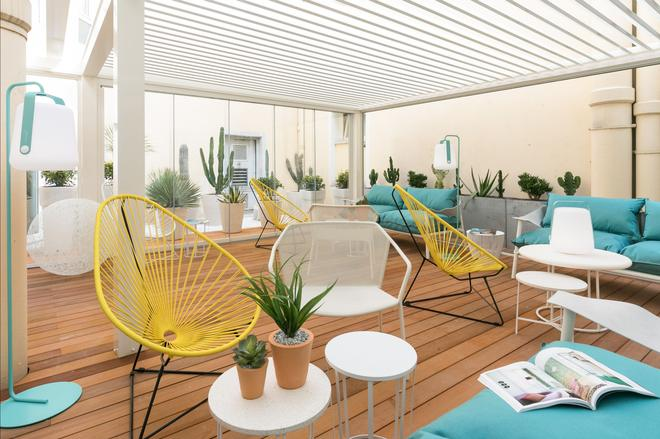 The Deck Hotel by HappyCulture - Nizza - Patio