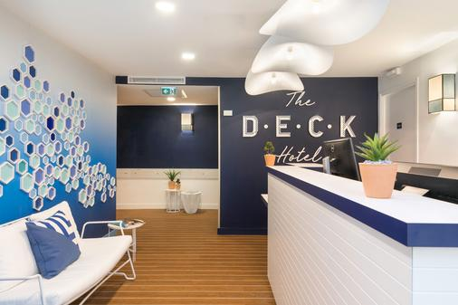 The Deck Hotel by HappyCulture - Nizza - Vastaanotto
