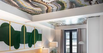 Maisons Du Monde Hôtel & Suites - La Rochelle Vieux Port - לה רושל - חדר שינה