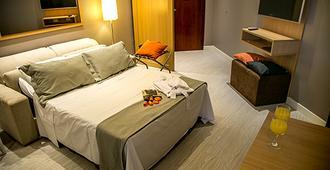 Cosmopolitan Praia Flat - Santos - Bedroom