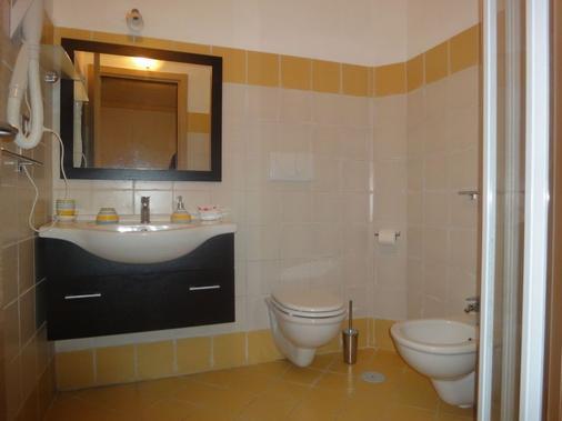 Villamirella - Palinuro - Bathroom