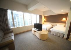 H1 Hotel - Hongkong - Schlafzimmer