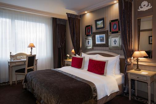京華大酒店 - 日內瓦 - 日內瓦 - 臥室