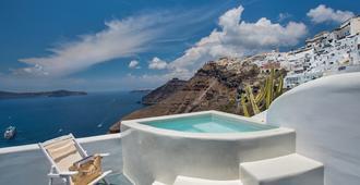 Athina Luxury Suites - Thera - Piscina