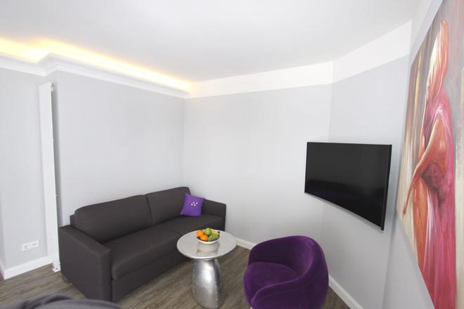 stays design Hotel Dortmund - Dortmund - Living room