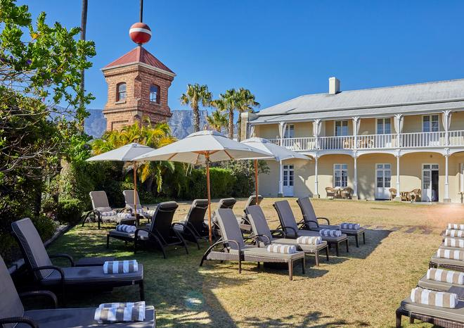 Dock House Boutique Hotel and Spa - Kapstadt - Innenhof
