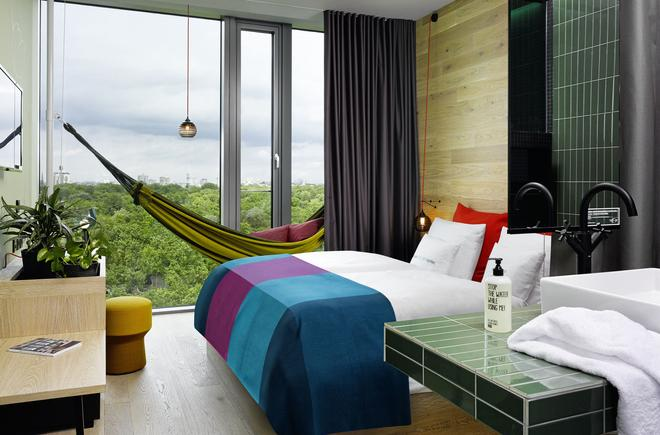 25hours hotel Bikini Berlin - Berlin - Phòng ngủ