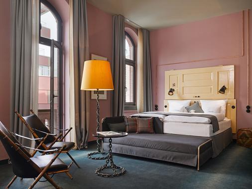 25hours Hotel Hamburg Altes Hafenamt - Hamburg - Phòng ngủ