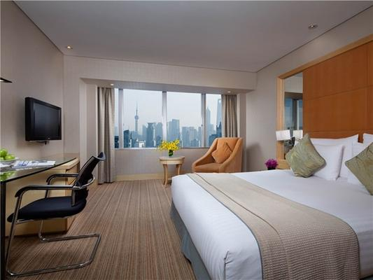 Jin Jiang Tower - Shanghai - Bedroom