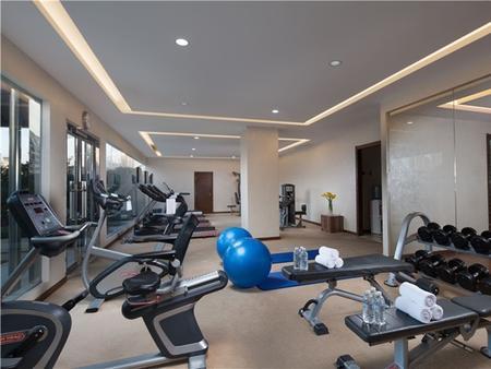 Jin Jiang Tower - Shanghai - Gym