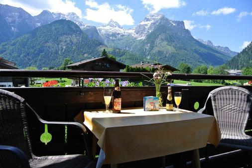 Haus Alpengruß - Lofer - Balkon