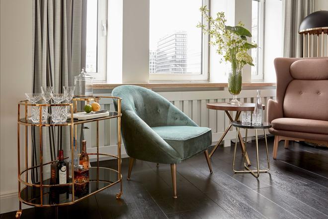 Sir Nikolai Hotel - Hamburg - Living room