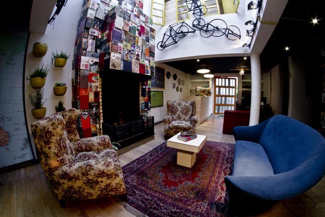12:12 Hostels - Μπογκοτά - Σαλόνι ξενοδοχείου