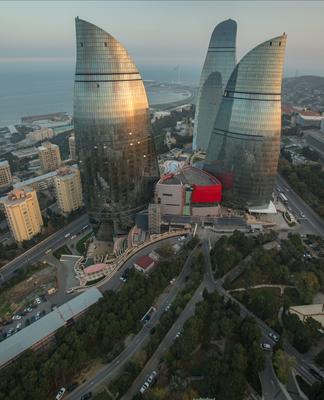 Fairmont Baku Flame Towers - Baku - Rooftop